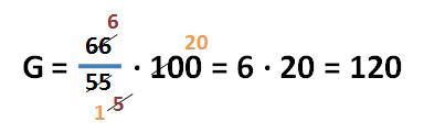 Formel zur Berechnung des Grundwertes - Beispielaufgabe