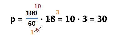 Formel zur Berechnung des Prozentsatzes - Beispielaufgabe